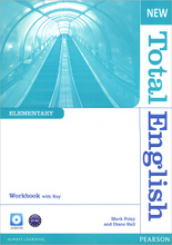 New Total English: Elementary: Workbook with Key (+ CD),