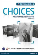 Choices: Pre-Intermediate Workbook / Английский язык. Рабочая тетрдь (+ CD),