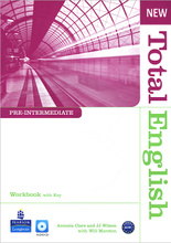 New Total English: Pre-Intermediate: Workbook with Key (+ CD),