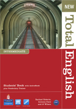 New Total English: Intermediate: Student's Book (+ CD),