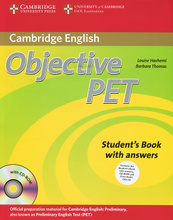 Objective PET: Student's Book with Answers (+ 4 CD-ROM),