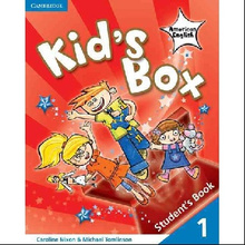 Kids Box American English Level 1 Students Book,