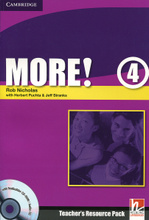 More! Level 4: Teachers Resource Pack (+ CD-ROM),