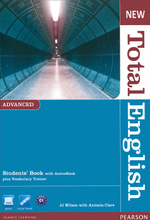 New Total English Advanced: Student's Book with Active Book (+ CD-ROM),