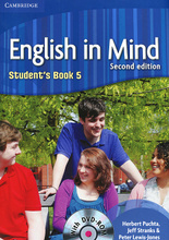 English in Mind: Level 5: Student's Book (+ DVD-ROM),