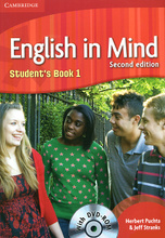 English in Mind: Level 1: Student's Book (+ DVD-ROM),