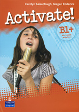 Activate! B1+ Workbook with Key (+ CD-ROM),