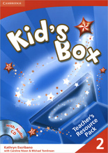 Kid's Box: Level 2: Teacher's Resource Pack (+ CD-ROM),