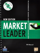 Market Leader New Edition: Pre-Intermediate: Business English Teacher's Resource Book (+ CD-ROM),