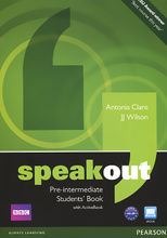Speakout: Pre-Intermediate: Student's Book with Active Book (+ DVD-ROM),