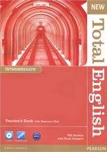New Total English: Intermediate: Teacher's Book (+ CD-ROM),