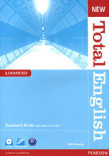 New Total English: Advanced: Teacher's Book (+ CD-ROM),