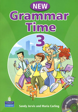 Grammar Time: Level 3: Students Book (+ CD-ROM),