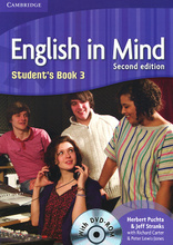 English in Mind: Level 3: Student's Book (+ DVD-ROM),