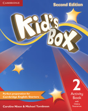 Kid's Box 2: Activity Book with Online Resources,