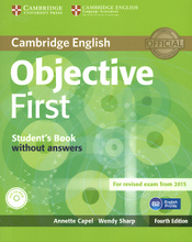 Objective First: Student's Book without Answers (+ CD-ROM),