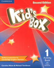 Kid's Box 1: Activity Book with Online Resources,