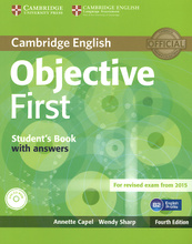 Objective First: Student's Book with Answers (+ CD-ROM),