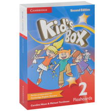 Kid's Box: Level 2: Flashcards (набор из 103 карточек),