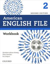 American English File: Level 2: Workbook (+ CD-ROM),