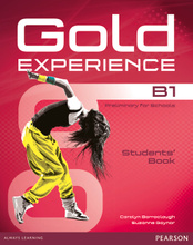 Gold Experience B1: Students' Book (+ DVD-ROM),