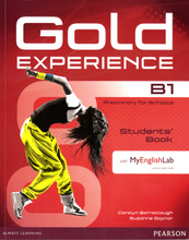 Gold Experience B1: Students' Book with MyEnglishLab (+ CD-ROM),
