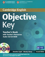 Objective Key: Teacher's Book with Teacher's Resources (+ CD-ROM),