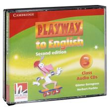 Playway to English: Level 3: Class Audio CDs (аудиокурс на 3 CD),