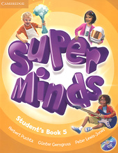 Super Minds: Level 5: Student's Book (+ DVD-ROM),