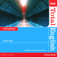 New Total English: Advanced: Class CDs (аудиокурс на 2 CD),