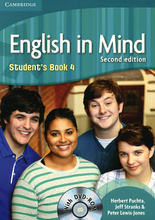 English in Mind: Level 4: Student's Book (+ DVD-ROM),
