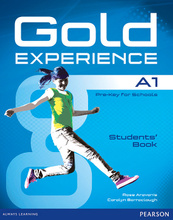 Gold Experience A1: Students' Book (+ DVD-ROM),