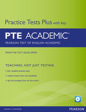 Pearson Test of English Academic: Practice Tests Plus with Key (+ CD-ROM),