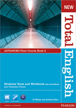 New Total English: Advanced: Flexi Course Book 2: Students' Book and Workbook with ActiveBook + Vocabulary Trainer (+ DVD-ROM),