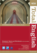 New Total English: Intermediate: Flexi Course Book 2: Students' Book and Workbook with ActiveBook plus Vocabulary Trainer (+ DVD-ROM),