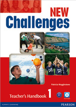 New Challenges 1: Teacher's Handbook (+ CD-ROM),
