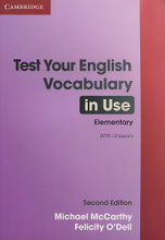 Test Your English Vocabulary in Use: Elementary,