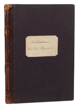 Rob. Schumann's sammtliche Werke. Der Rose Pilgerfahrt, op. 112. Klavierauszug,
