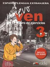 Nuevo Ven: Libro del Ejercicios: Nivel 3 (+ CD),
