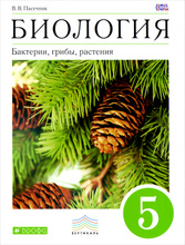 Биология. Бактерии, грибы, растения. 5 класс. Учебник, В. В. Пасечник
