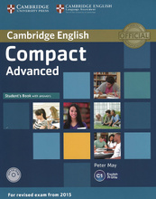 Compact Advanced: Student's Book with Answers (+ CD-ROM),