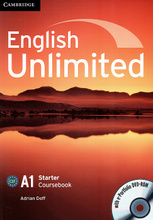 English Unlimited: Starter: Coursebook (+ DVD-ROM),