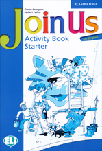 Join Us for English: Starter: Activity Book,