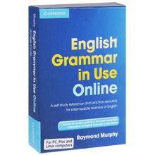 English Grammar in Use Online: Access Code: A Self-Study Reference And Practice Resource for Intermediate Learners of English,