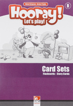 Hooray! Let's Play! - B Card-Sets (Flashcards+Story Cards),