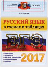 ЕГЭ 2017. Русский язык в схемах и таблицах, И. Н. Политова