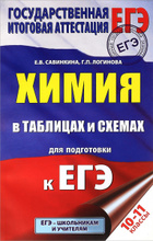 ЕГЭ. Химия. 10-11 классы. В таблицах и схемах, Е. В. Савинкина, Г. П. Логинова