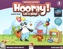 Hooray! Let's Play! Level B: Student's Book (+ CD),