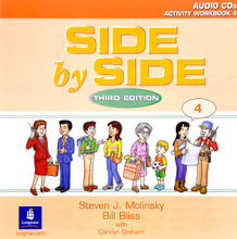 Side by Side 4: Activity Workbook 4 (аудиокнига на 2 CD),