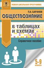 Обществознание в таблицах и схемах. 5-9 классы, П. А. Баранов